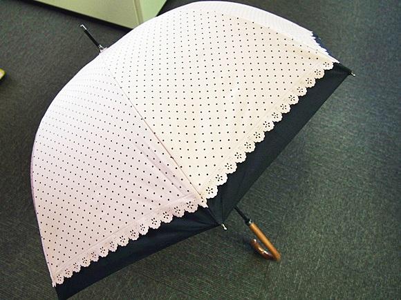 紫外線カットは当たり前!涼しさも感じる2重になったベルメゾン日傘