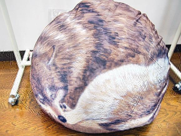 癒し動物の中身は布団!フェリシモのクークークッションケース