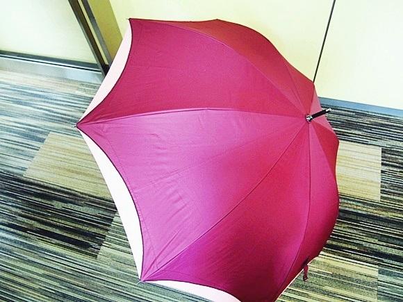 ベルメゾンネットの強風に強い晴雨兼用ジャンプ傘 bellemaison-umbrella