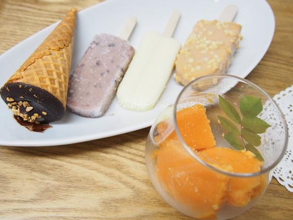置き換えダイエットができる食べるスムージー Saibyでシャーベットアイス