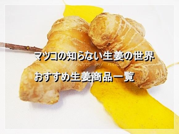 マツコ しょうが ginger