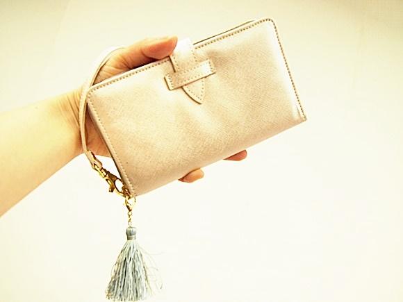 フェリシモ 手ぶら財布