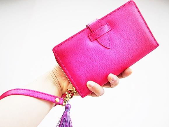 フェリシモ 手ぶら財布 カラー