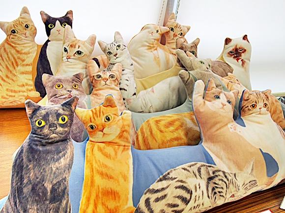 フェリシモ 猫クッション