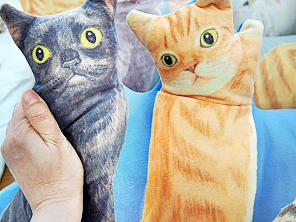 フェリシモ 猫まみれハーレムクッション