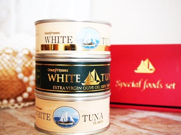 ツナ缶 オーシャンプリンセス ホワイトツナ