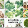 フェリシモ ユーモア雑貨で部屋を簡単に模様替え!森に動物たちが集う