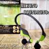 MIZUNO サウンドラン800は耳に密着させない世界初のワイヤレスヘッドフォン