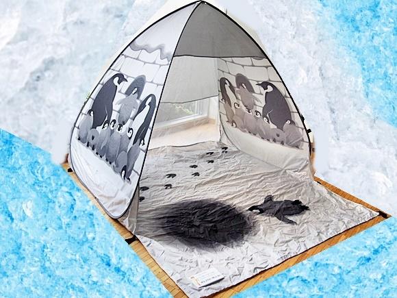 フェリシモ ペンギン テント