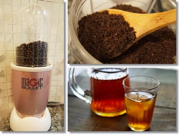 マジックブレットデラックスをミルとして使う!コーヒー豆やハトムギの挽き方