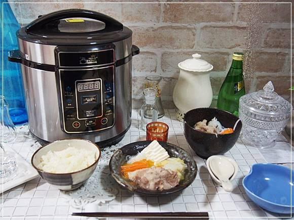 圧力鍋 プレッシャーキングプロ ショップジャパン 口コミ 炊飯