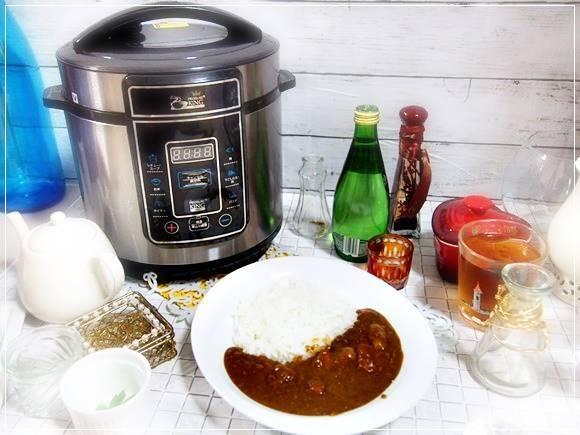 プレッシャーキングプロ カレーレシピ