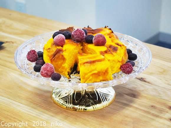 パワーマジックフライヤー レシピ かぼちゃケーキ