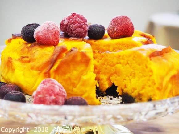 パワーマジックフライヤー レシピ かぼちゃケーキ 作り方