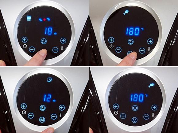 パワーマジックフライヤー 温度設定 自動