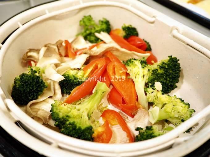 ツインシェフ 蒸し野菜