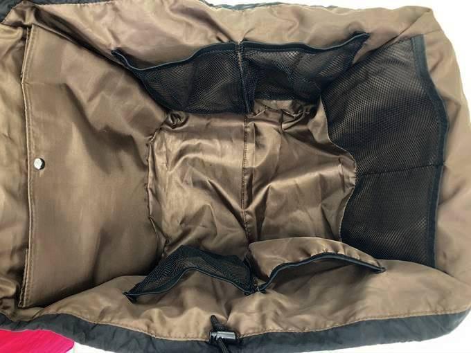 フェリシモ レジカゴリュック 8ポケット マザーズバッグ ブラック